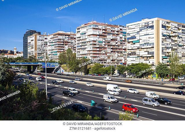 Colmenas del Barrio de la Concepción. Madrid, Spain