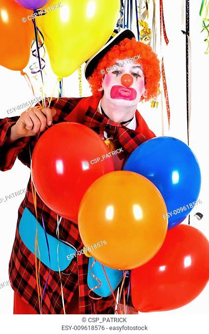 Celebration clown