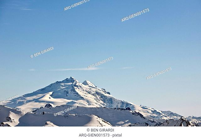 Monte Tronador In The Border Of Chile And Argentina