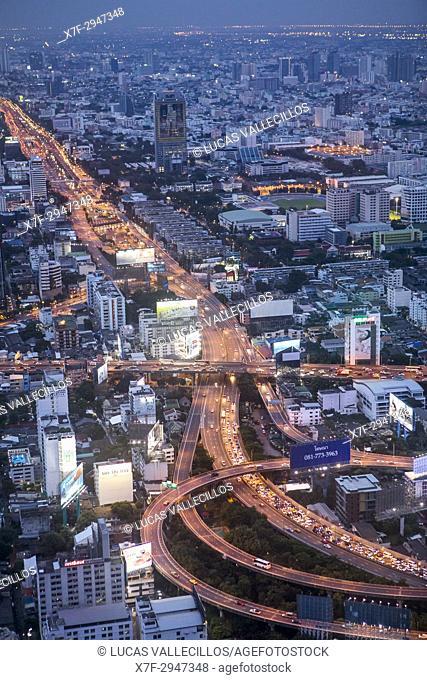 Chalerm Maha Nakhon Expy expressway, Bangkok, Thailand