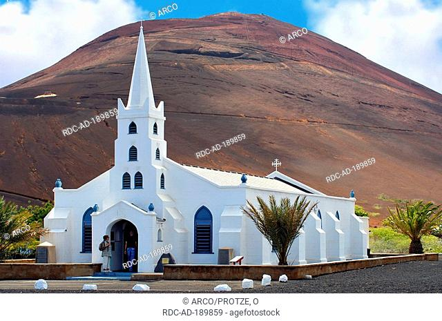 Gothic church, Georgetown, Ascension Island, British overseas territories, South Atlantic