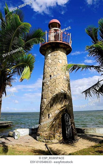 Tropical lighthouse