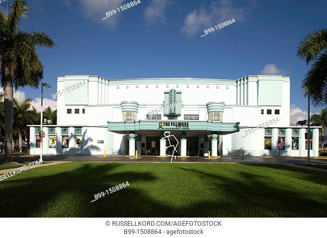 The Filmore At Jackie Gleason Theater Miami Beach Florida USA