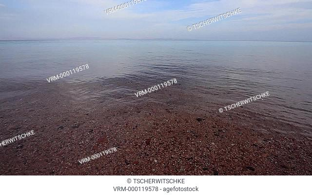 Red sea, Low tide, Sinai, Egypt