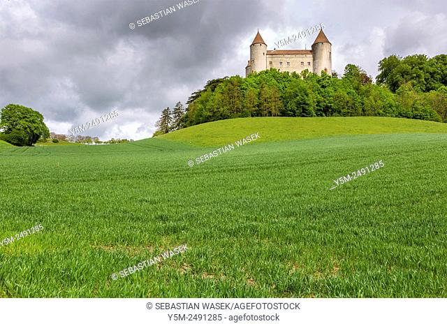 Château de Champvent, Canton de Vaud, Switzerland, Europe