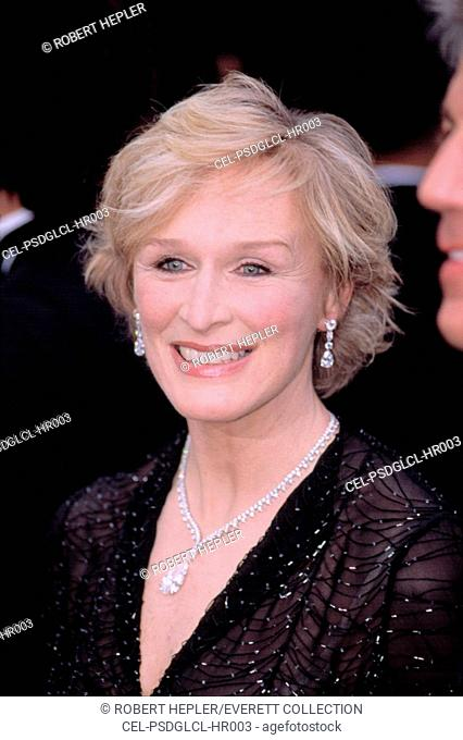 Glenn Close at the Academy Awards, 3/24/2002, LA, CA, by Robert Hepler