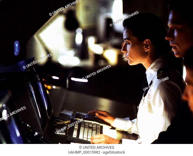 Die Akte Jane, (G.I. JANE) USA 1997, Regie: Ridley Scott, DEMI MOORE, Stichwort: Computer, Tastatur