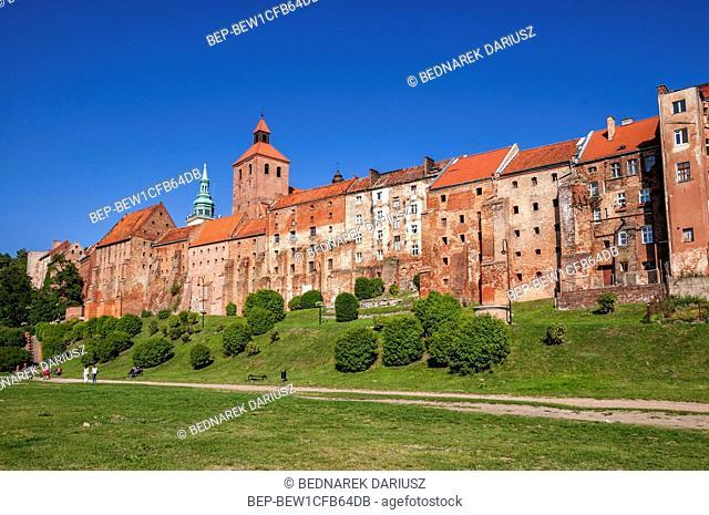 The famous Grudziadz Granaries, Kuyavian-Pomeranian Voivodeship, Poland