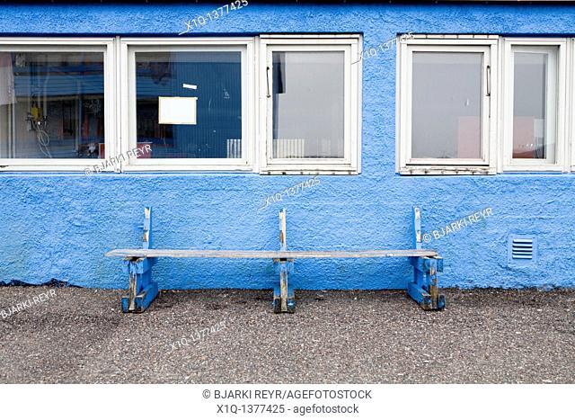 Old bench, Narsaq, South Greenland
