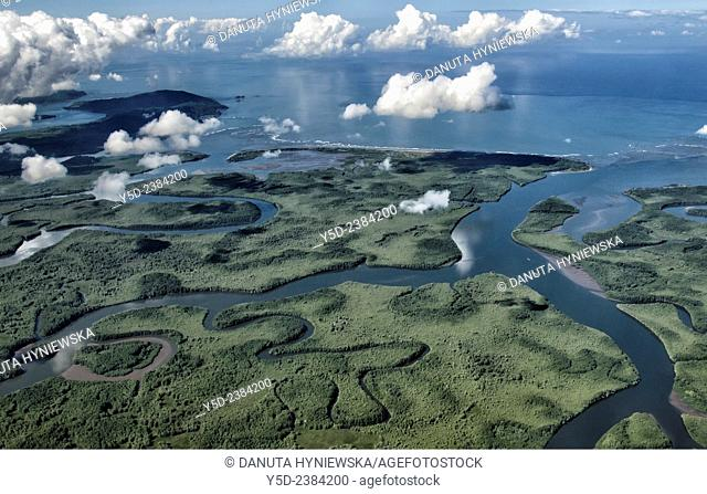 Humedal Nacional Terraba Sierpe, Delta Sierpe River, gateway to Corcovado National Park, Costa Rica