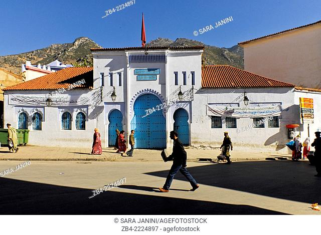 Central town, Chefchaouen or Chaouen, Rif Region, Morocco, North Africa