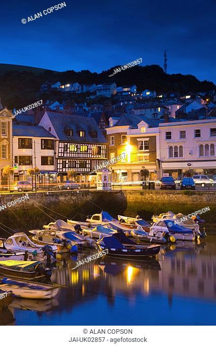 UK, Devon, Dartmouth, The Quay