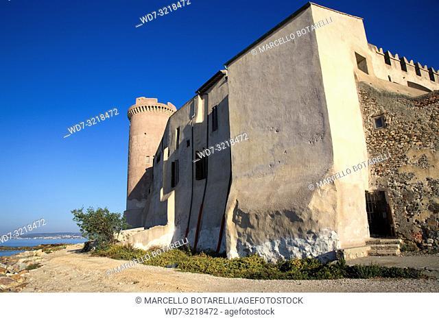 Castle of Santa Severa, near Rome, Italy