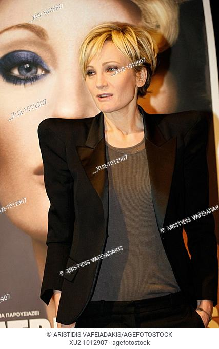 French singer Patricia Kaas in Athens Greece