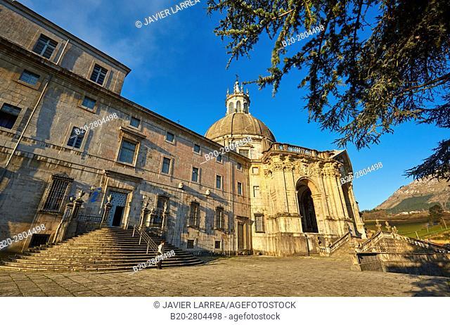 Santuario San Ignacio de Loyola, Camino Ignaciano, Ignatian Way, Azpeitia, Gipuzkoa, Basque Country, Spain, Europe