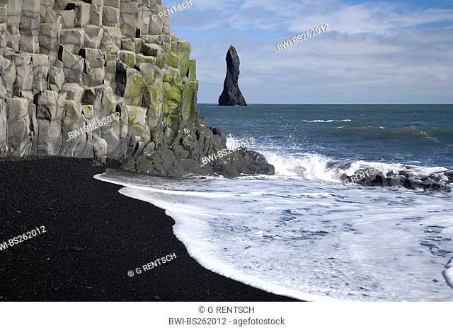 rocks of Reynisdrangar, Iceland, Vik, Gardar