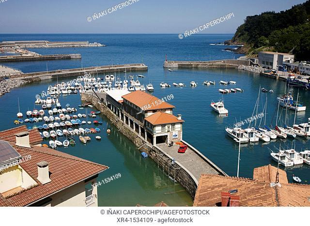 Fishing Port of Mutriku, Guipuzcoa, Basque Country, Spain