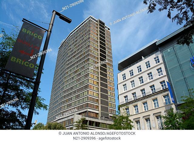 The Antwerp Tower. Antwerp. Belgium, Europe