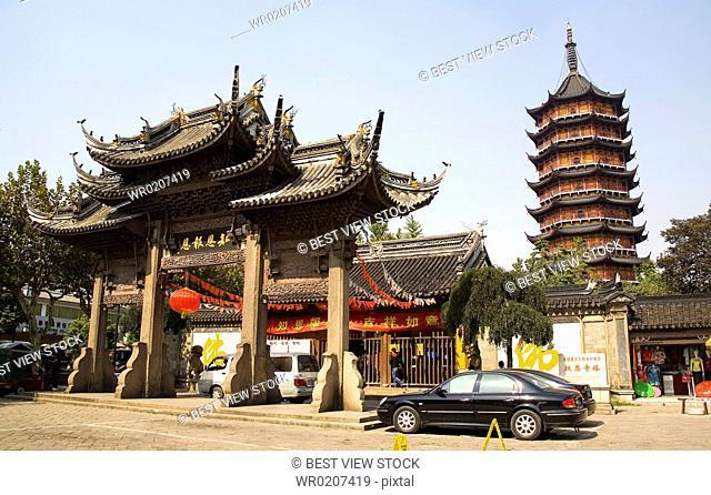 Jiangsu Province,Suzhou,Baoen Temple,China