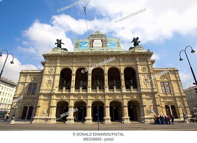 Staatsoper, Vienna State Opera House, Vienna, Austria