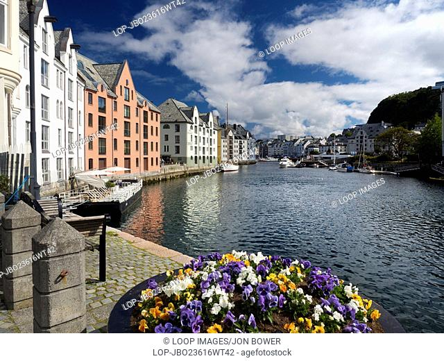 Alesund a small town in More og Romsdal county in Norway