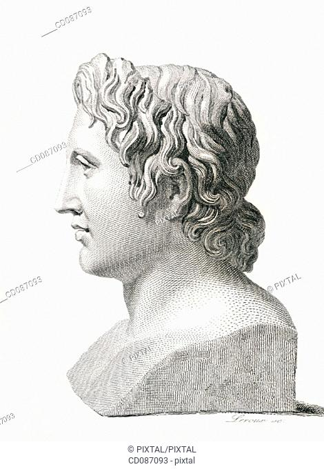Alexander the Great, king of Macedonia (356-323 B.C.)