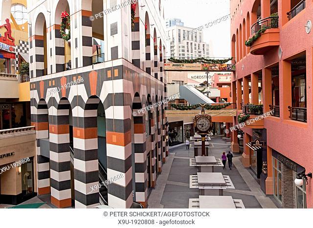 Horton Plaza mall in San Diego, California, United States of America, USA