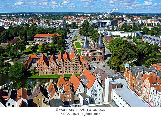 At the Bay of Luebeck. One of the most popular vacation regions in the north of Germany. . Hanseatic City of Luebeck, Schleswig-Holstein