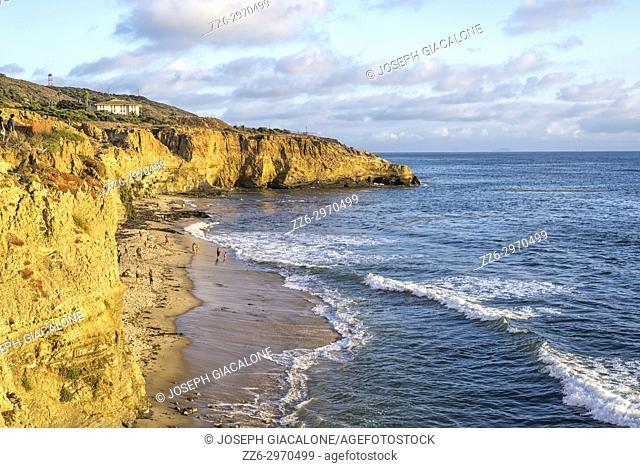 Sunset Cliffs Natural Park. San Diego, California