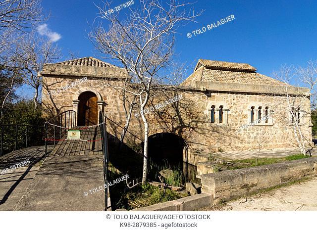 Sa Roca, centro de interpretacion, Parque natural de la Albufera de Mallorca, Mallorca, balearic islands, spain, europe