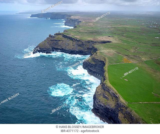 Cliffs of Moher, County Clare, Atlantic Ocean, Ireland