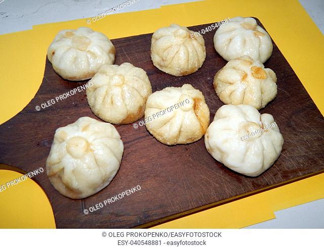 Chinese food dumplings cooking bao