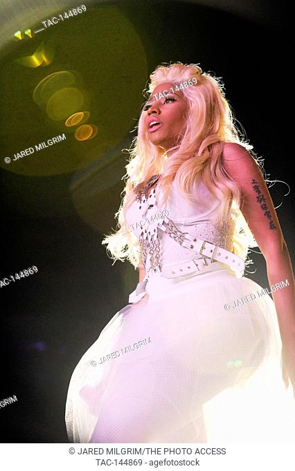 Nicki Minaj performs at KIIS FM's Wango Tango 2012 at the Home Depot Center on May 12, 2012 in Los Angeles, California