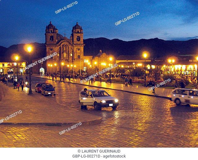 Del Cusco Cathedral, Plaza of Weapons, Cuzco, Worth Sacred of Los Incas, Region of Cusco, Lima, Peru