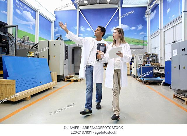 Researchers. Industry, Technology and Research Centre, Technological Park, San Sebastian, Donostia, Gipuzkoa, Basque Country, Spain