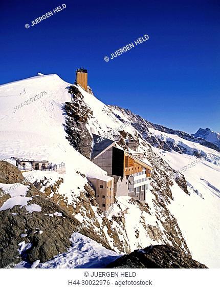 Switzerland, swiss alps, Jungfrau plateau, Top of europe, 13642ft, Aletsch glacier
