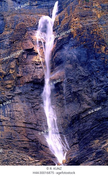 Waterfall, Takekkaw Falls, Yoho National Park, British Columbia, Canada
