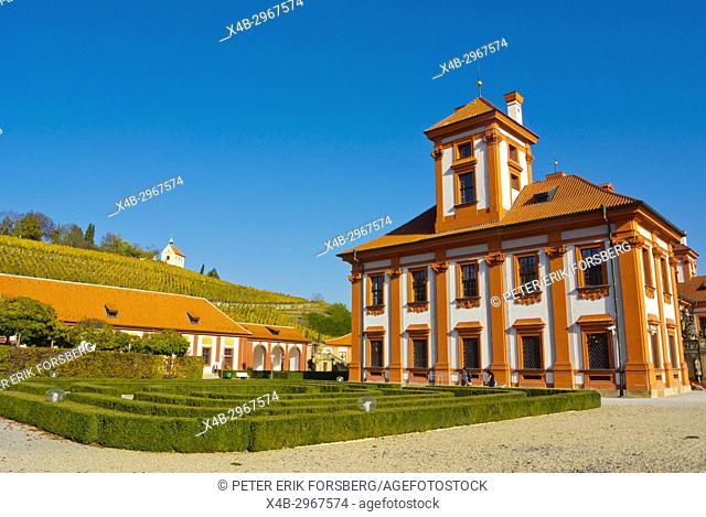 Trojsky Zamek, Troja Palace, from1691, Troja, Prague, Czech Republic