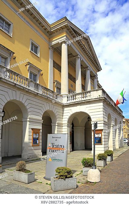 Piacenza Municipal Theatre, Teatro Municipale, Piacenza, Emilia-Romagna, Italy, Europe