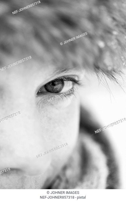 Portrait, close-up