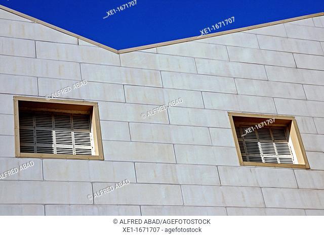 industrial building, Zona Franca, Barcelona, Catalonia, Spain