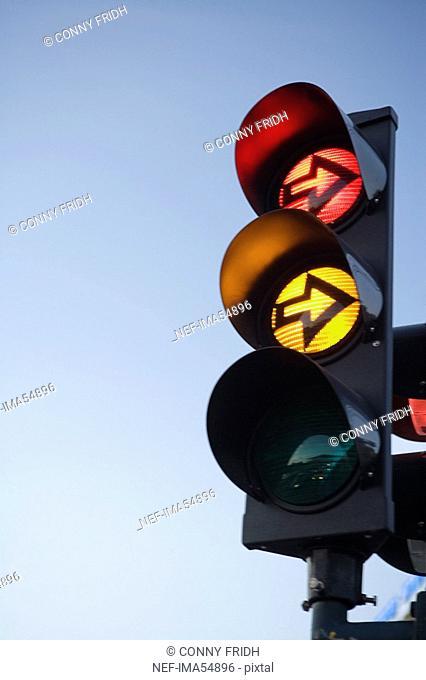 Traffic light Stockholm Sweden