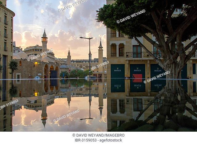 Amir Assaf Mosque in Beirut Central District