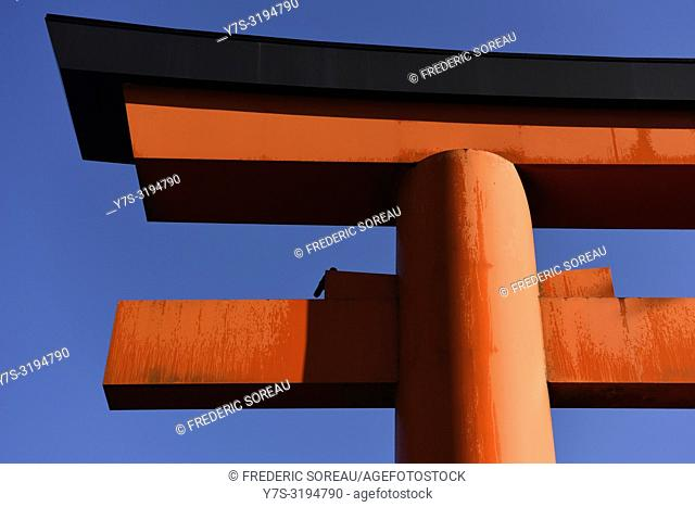 Torii gate in Motohakone,Hakone, Japan,Asia