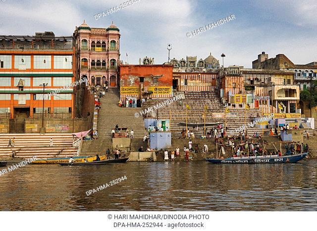 Vijayanagaram ghat, varanasi, uttar pradesh, india, asia