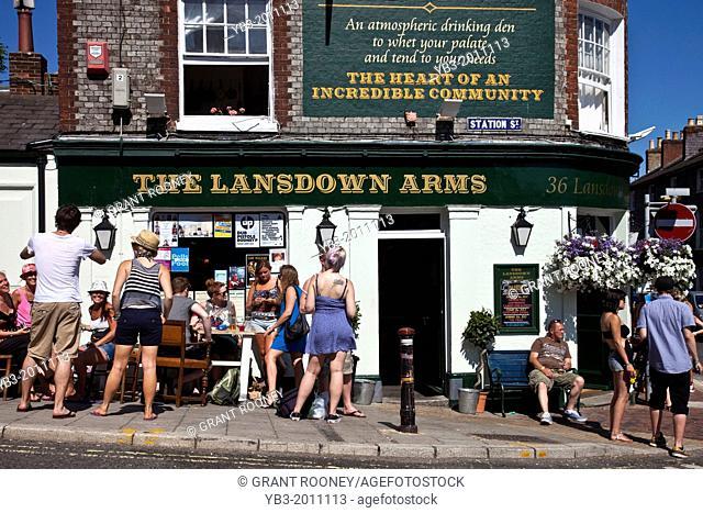 The Lansdown Arms Public House, Lewes, Sussex, England