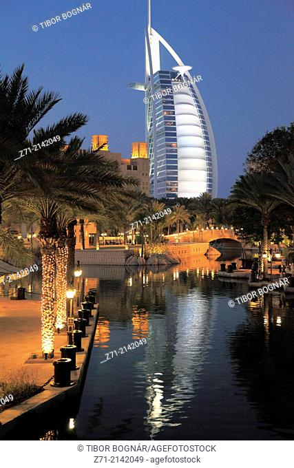 United Arab Emirates, Dubai, Burj al-Arab Hotel,