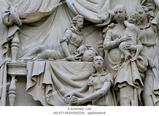 The Life of the Virgin, Church of Our Lady of Loreto, Prague