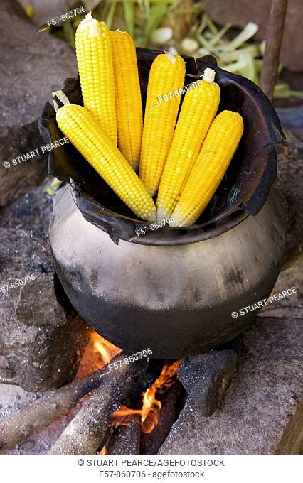 Corn on the Cob, Sri Lanka