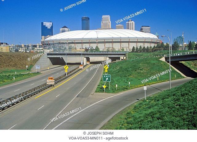 Hubert H. Humphrey Metrodome, Minneapolis, MN